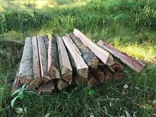 Fence posts hardwood spit Birdwood Adelaide Hills Preview
