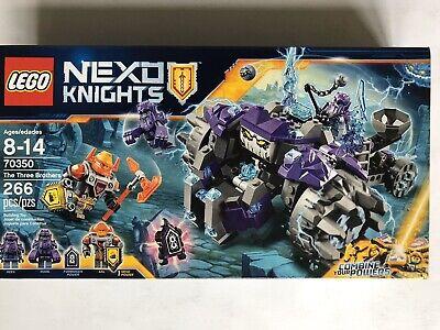 LEGO 70350 Nexo Knights The Three Brothers - New Sealed
