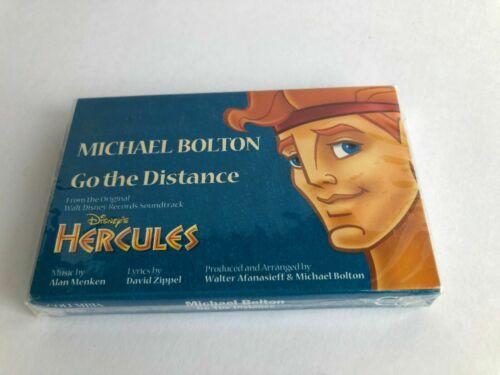 1997 Hercules Disney Michael Bolton Cassette Go The Distance New & Sealed!