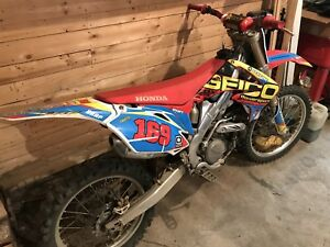 Crf450r injection
