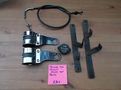 TRIUMPH TRIDENT 900 1992 HEADLIGHT BRACKETS  OTHER PARTS  ALL USED