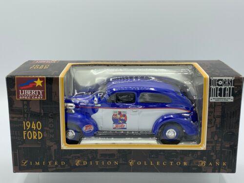 Liberty Classics Pete & Pepsi Cops Bank 1940 Ford Sedan Limited Edition w/Box