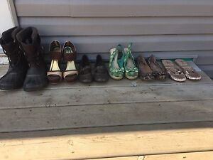 Women's size 8 shoe lot