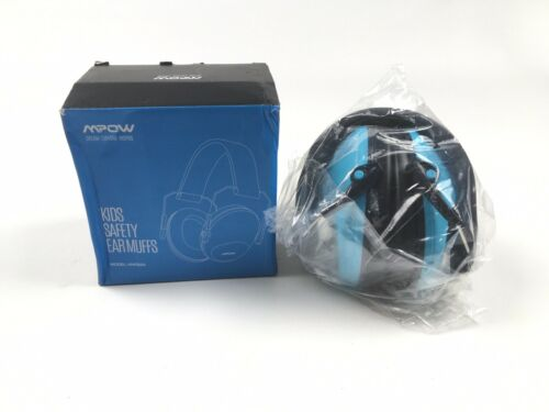 Mpow Kids Safety Ear Muffs Blue 26 dB Noise Reduction
