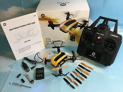 Holy Stone HS150 Bolt Bee Mini Racing Drone Headless Mode 31mph Extra Battery