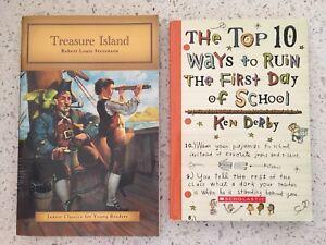Treasure Island Junior Classic 10 Ways to Ruin Day School Books