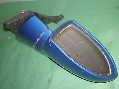 SeaDoo LH Mirror Assy BLUE 01 02 RX DI 02 GTX 4-TEC GTX DI 03 GTX 4-TEC WAKE OEM