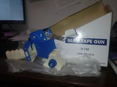 New  Uline Industrial Tape Gun Dispenser - Side Load Tape H-150