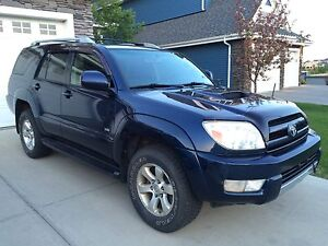 2004 TOYOTA 4RUNNER V6 SR5 SPORT 4WD SUV, CROSSOVER REDUCED !!