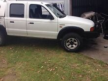 2002 ford courier duel cab 4x4 ute Mirrabooka Lake Macquarie Area Preview