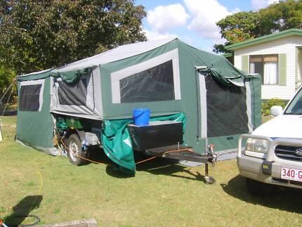 Camper trailer. CAMEL NOMAD