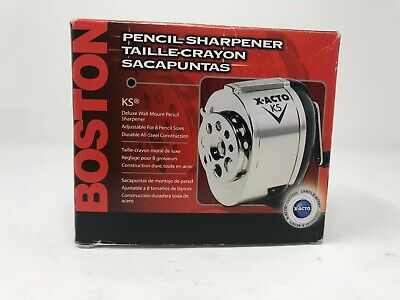 Boston X-acto Ks Deluxe Wall Mount Pencil Sharpener Model No.1031