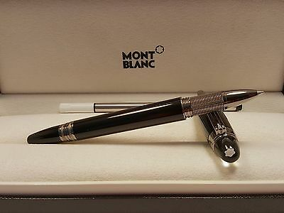 MONTBLANC StarWalker Black Midnight  Rollerball / Fineliner Pen NEW in BOX!