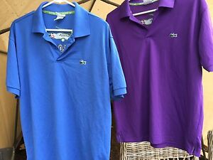 Men's Lacoste polo shirts size small