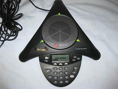 Polycom Soundstation 2 Display Conference Phone Station 2201-16000-601tested