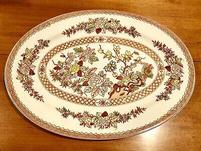 Vintage UCAGCO Ceramics INDIAN TREE Platter Made Japan EXCELLENT for sale  Leonard