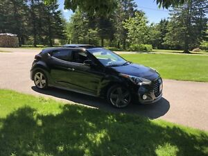 14 Veloster Turbo With Warranty ONLY 128 BI WEEKLY TAXES IN!!!