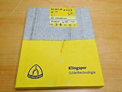"""2/""""x72/"""" Klingspor LS312 220 Grit Premium Lubed /""""J/"""" Flex 5pcs"""