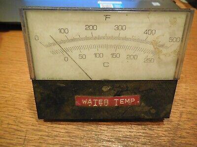 Modutec Temperature Panel Meter 0-500f Ic Type J Tc 10 Ohm Ext Res
