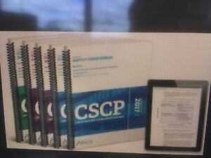 Used CSCP textbooks for sale