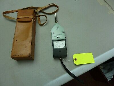 Bruel Kjaer Type 2215 Portable Precision Sound Level Meter Octave Analyzer
