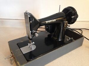Vintage Singer Spartan Portable Sewing Machine