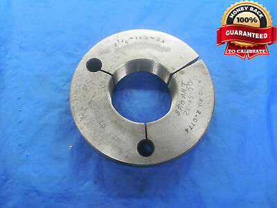 2 18 16 Un 2a Thread Ring Gage 2.125 No Go Only P.d. 2.0774 N-2a Quality