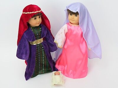 Away in Manger Outifts   for 18'' dolls by American Fashion World