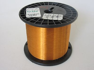40 Awg  3.55 Lbs. Essex Thermalex Heavy Enamel Coated Copper Magnet Wire