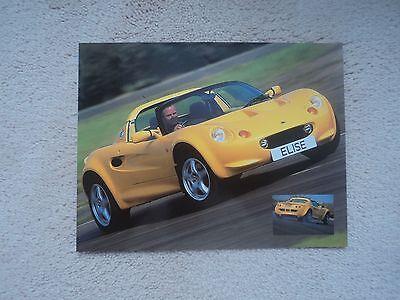 Lotus Elise Photo Card - Mint