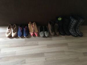 Women's shoes for sale all fit a size 7.5