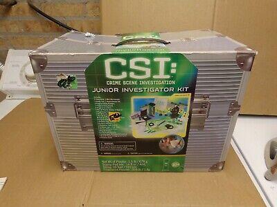 CSI:crime scene investigation (JUNIOR INVESTIGATOR KIT COMPLETE NEW TOYS R US EX