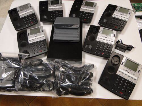 Ipitomy Phone System VOIP IP PBX  IP1100 w/ IP550 Phones