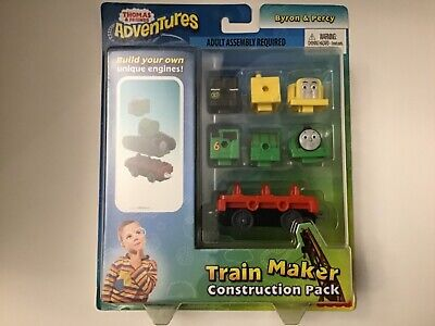 Thomas & Friends Adventures Byron & Percy Train Maker Set New Factory Sealed