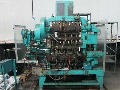 Waterbury Farrel 1210 Icop 10 Station Transfer Press Wwaterbury Twin Disc Clutc