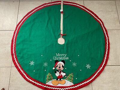 "Disney Mickey Mouse 48"" Christmas Tree Skirt"