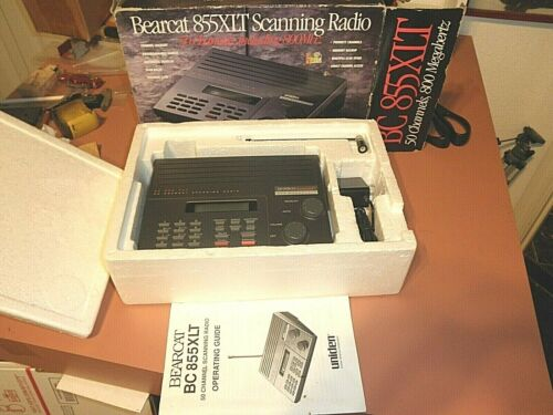 Uniden Bearcat BC-855XLT VHFUHFAIR800 50 Channel Programmable Scanner Radio