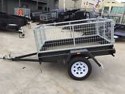 Cage Trailer - 6x4 Light Duty Trailer with 2 ft Galvanised Cage Thomastown Whittlesea Area Preview