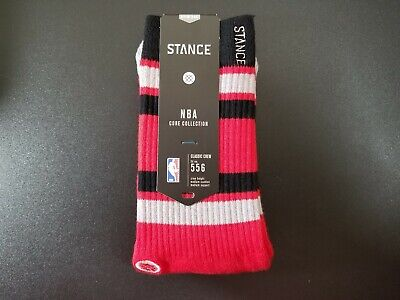 Toronto Raptors Stance NBA Arena Core Crew Socks Size Medium M556D5RAPT Core Medium Crew Socks