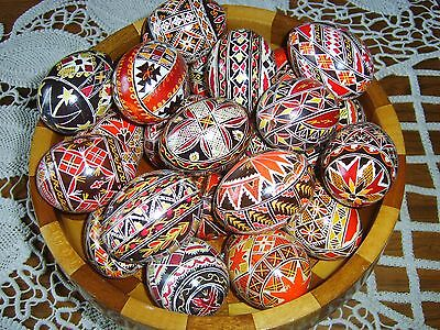 Decorative. Fragile, Easter EGGS - Real Hens Eggs, Hand Painted.