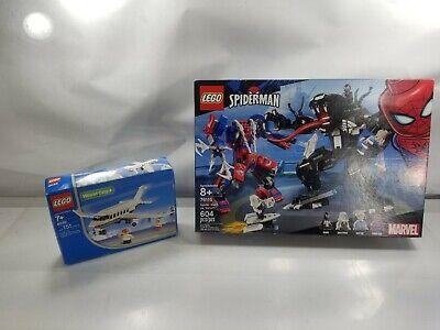 New Lego Sets Marvel Spider-Man 76115 Spider Mech Vs. Venom + World City 4032 #5