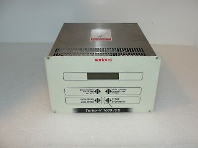 Varian Turbo-v 1000 Ice Turbo Pump Controller 96995475004
