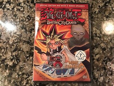 Yu Gi Oh  Battle City Duels Mime Control New Sealed Dvd  Cartoon Network
