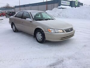 2000 TOYOTA Camry LE - safetied - 4 cyl - carproof attached!