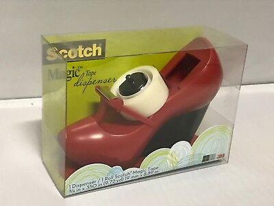Scotch 3m Magic Tape Dispenser  Red Shoe - Mary Jane C30-shoe