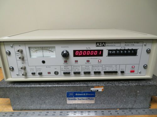 ASL Automatic Systems Laboratories F17A Precision Thermometry Resistance Bridge