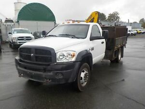 2009 Dodge Ram 5500 Regular Cab Dually Cummins Diesel 9 Foot Fla