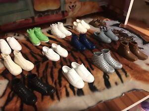 Dollhouse, Barbie, ken, man'shoes