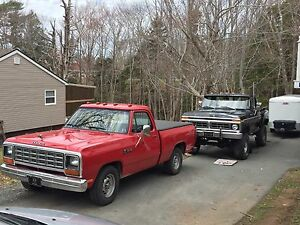 1984 Dodge D100 - just out of storage