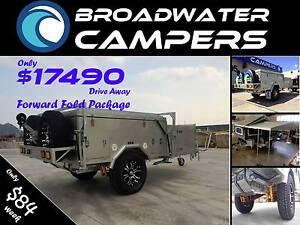 New Forward Fold Hard Floor Camper Trailer Arundel Gold Coast City Preview